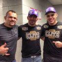 Chuck Liddlell, Glover Teixeira, Luigi MOndelli - UFC